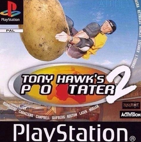 Pc game - AIONLY PlayStation PAL TONY HAWK'S P O TATER BURNQUIST CABALLERO CAMPBELL GLIFBERG KDSTON LASEK MULLEN NEVERT ACTIVISION PlayStation R USKA REYNULUS RUNLEY STEAMER J.THOMAS