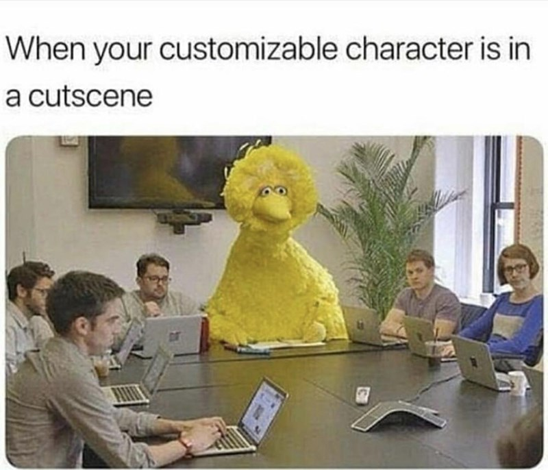 RDR2 meme about your self designed character looking odd among the game characters