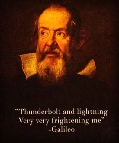 """pic of Galileo saying Queen's lyrics and having it quoted as - """"galielo"""" from the song 'Bohemian Rhapsody"""""""