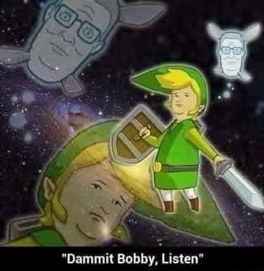 """Cartoon - """"Dammit Bobby, Listen"""""""
