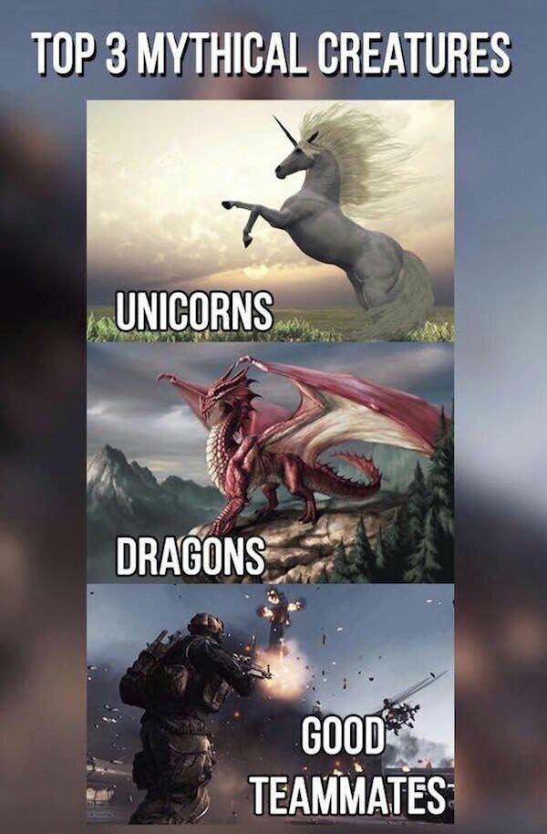 Organism - TOP 3 MYTHICAL CREATURES UNICORNS DRAGONS GOOD TEAMMATES
