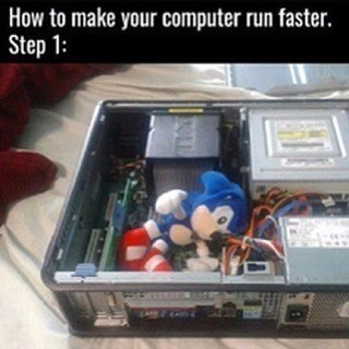 Electronics - How to make your computer run faster. Step 1: ORE