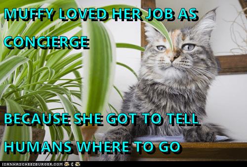 MUFFY LOVED HER JOB