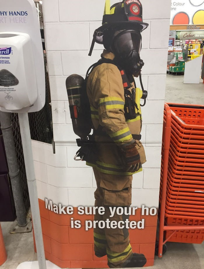 Personal protective equipment - Colour ere HY HANDS RT HERE Cafour the way rell o SanR NECTANT inMas Make sure your ho is protected