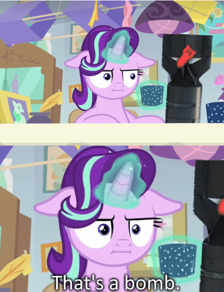 marks for effort war thunder starlight glimmer screencap comic - 9237880064