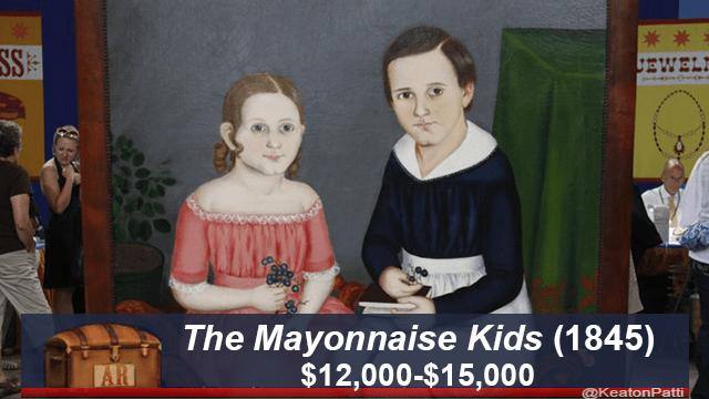 Painting - JEWEL The Mayonnaise Kids (1845) $12,000-$15,000 AR @KeatonPatti