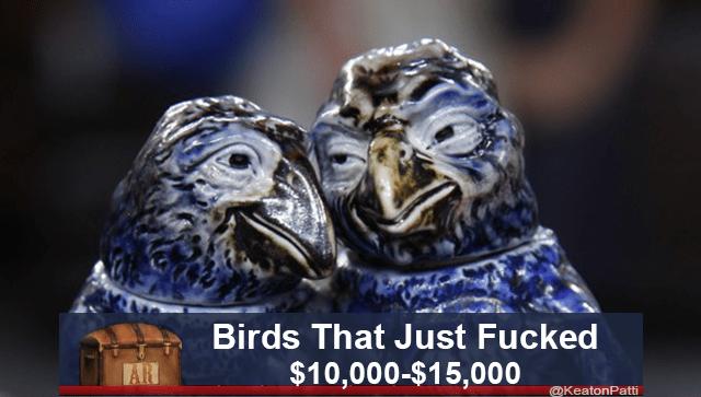Bird - Birds That Just Fucked $10,000-$15,000 AR @KeatonPatti