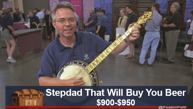 Musical instrument - Stepdad That Will Buy You Beer $900-$950 AR @KeatonPatti