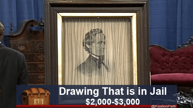 Wood stain - Drawing That is in Jail $2,000-$3,000 AR @KeatonPatti