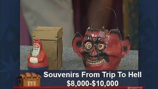 Head - Souvenirs From Trip To Hell $8,000-$10,000 KeatonPu