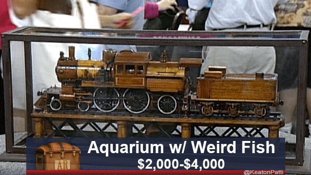 Scale model - Aquarium w/ Weird Fish $2,000-$4,000 @KeatonPatti