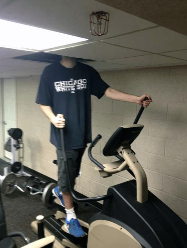 gym fails - Exercise equipment - CHICAGO WHITE SO