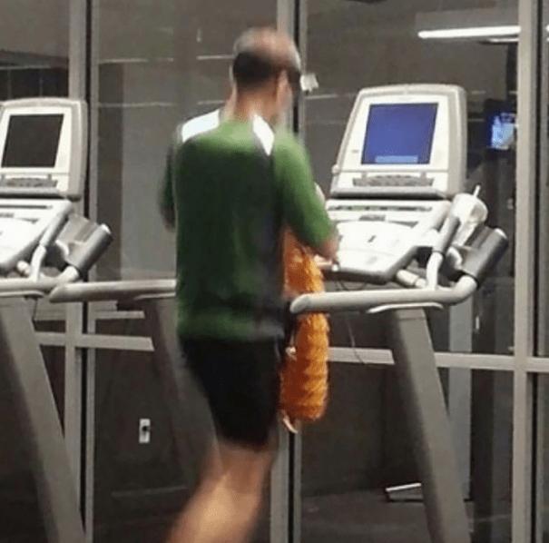 gym fails - Exercise machine