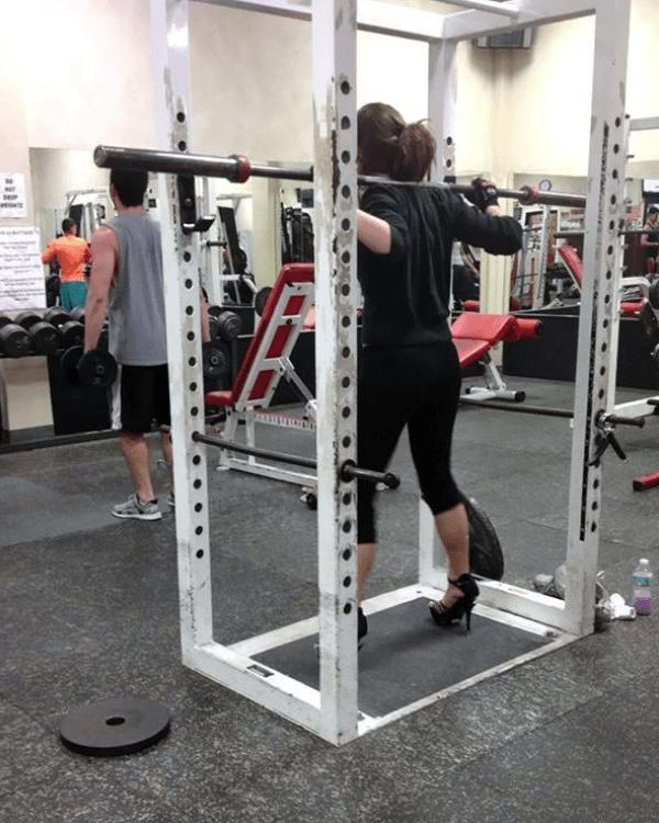 gym fails - Strength training