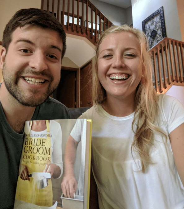 perspective - Smile - WILLIAMS-SONOMA BRIDE GROOM COOKBOOK Neape for cing togerh