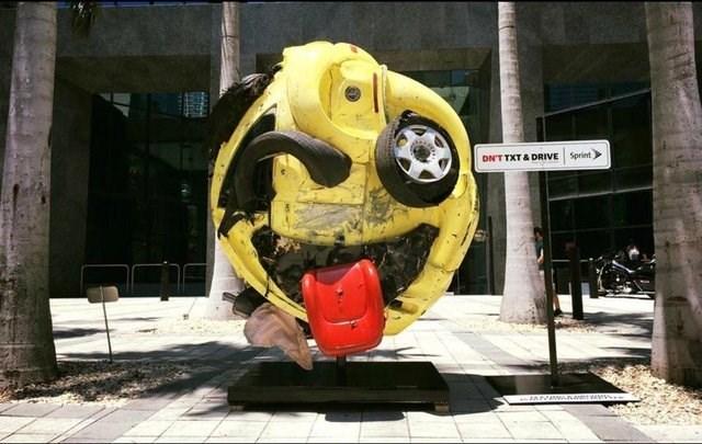 Yellow - DN'T TXT& DRIVE Sprint
