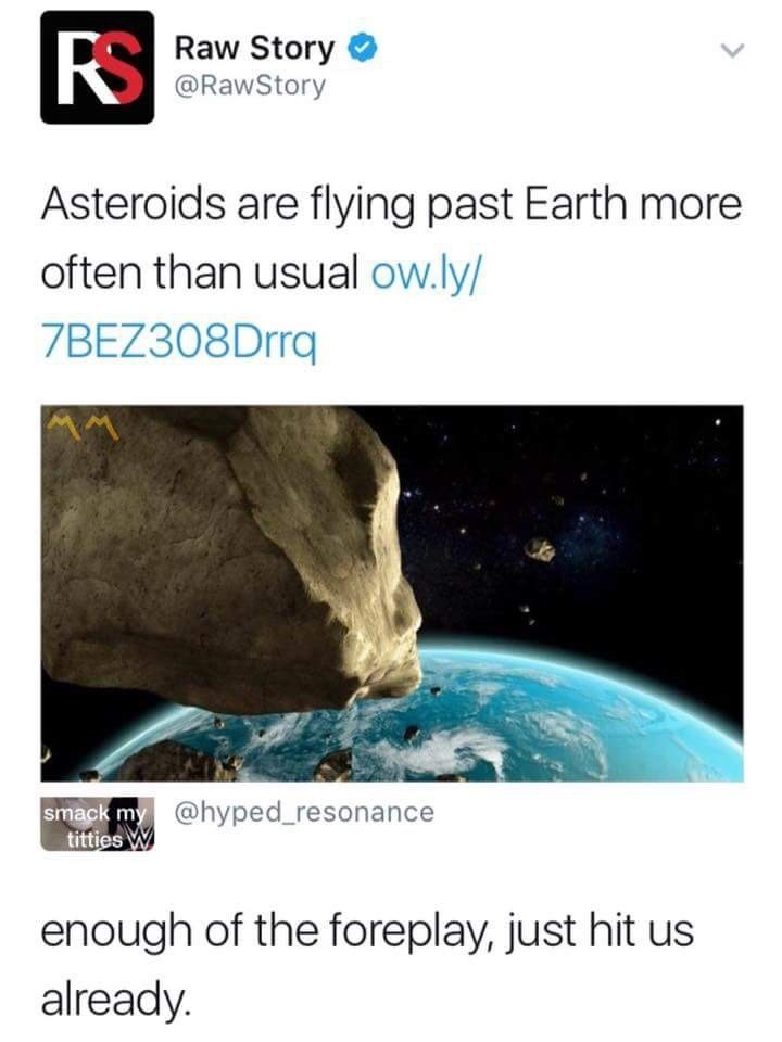 post about asteroids that can hit earth