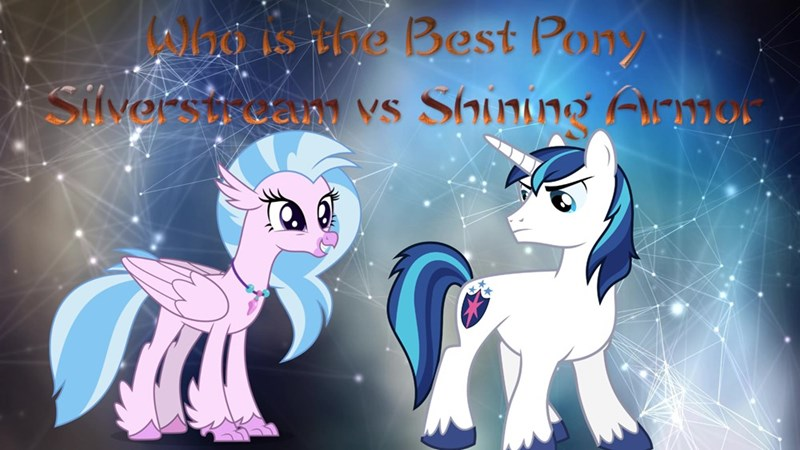 silverstream shining armor best pony - 9238987776