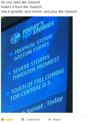meme about incoming storms