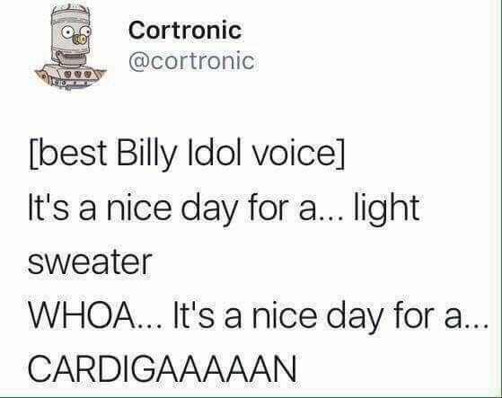 post about the best billy idol voice
