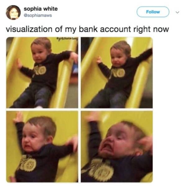 Face - sophia white esophiamaws Follow visualization of my bank account right now