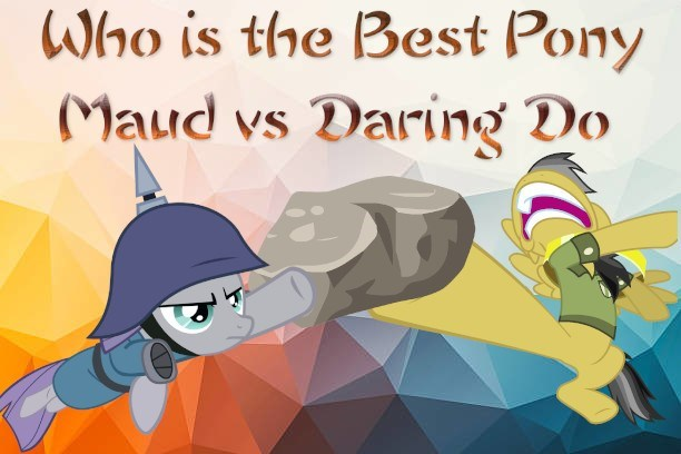 daring do maud pie best pony - 9240293632