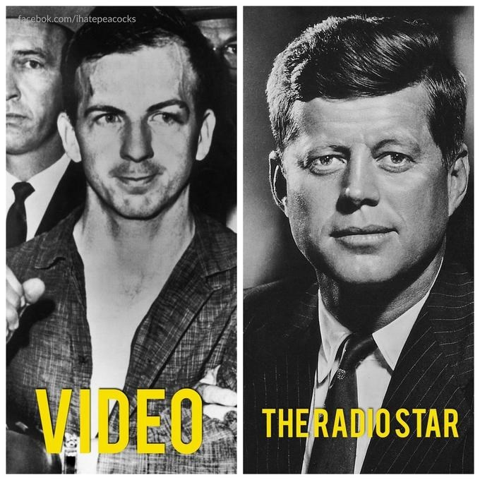 video killed the radio star meme about the assassination of John F Kennedy