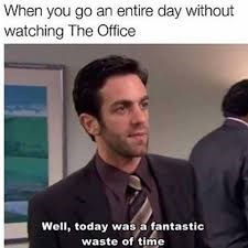meme of Ryan from the office looking annoyed