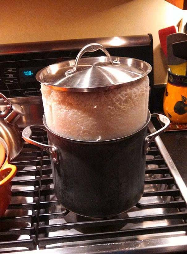 fail at cooking when the food in the pot rises above the pot