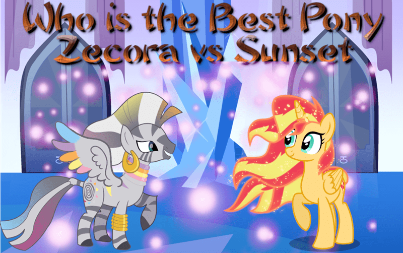 zecora sunset shimmer best pony ma larson - 9241847040