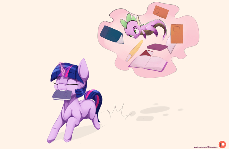 spike twilight sparkle chapaevv - 9241862912