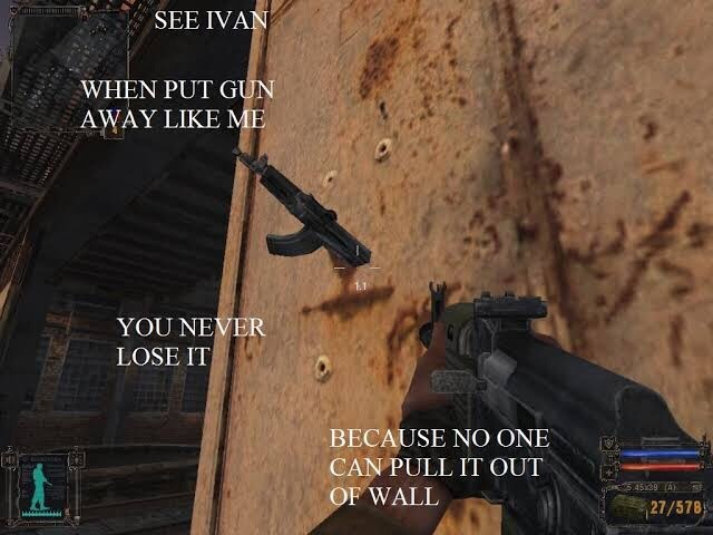 gaming meme about 'you see ivan' in a shootout