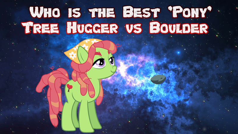 boulder tree hugger best pony - 9243146752
