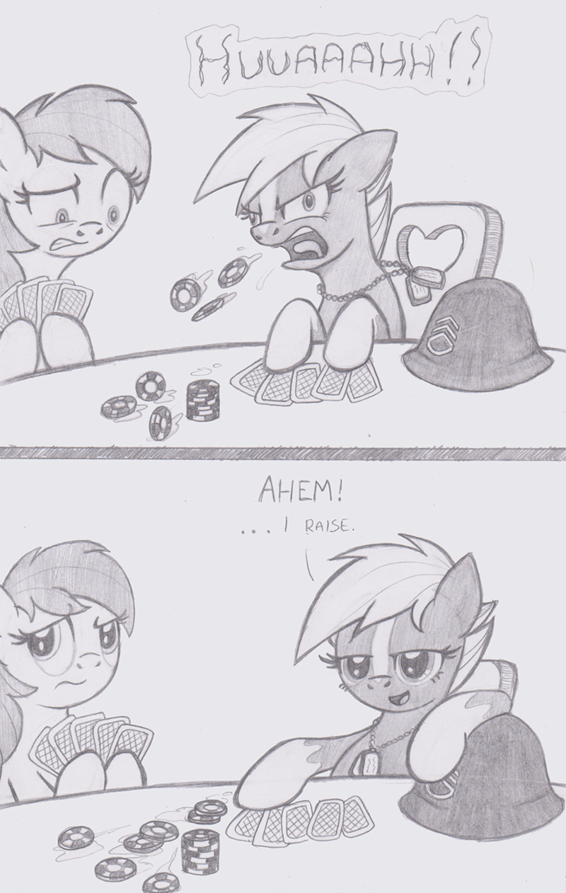 sergeant reckless brave OC locke robster ponify comic - 9243246080
