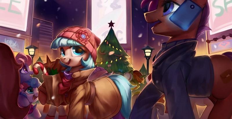 christmas OC coco pommel - 9243578368