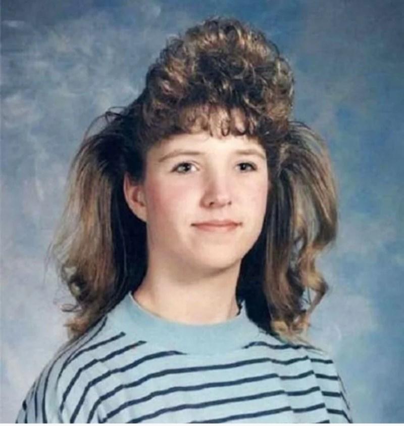 80s hair - Hair
