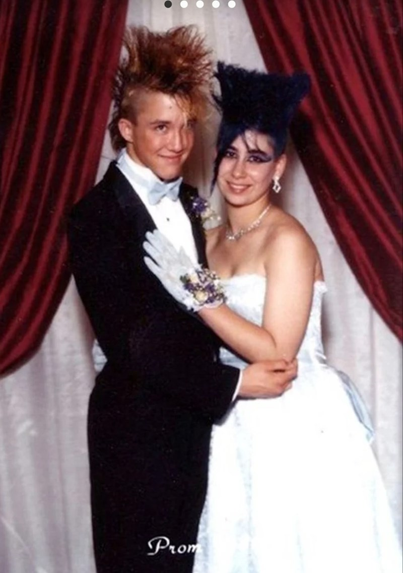 80s hair - Photograph - Prom