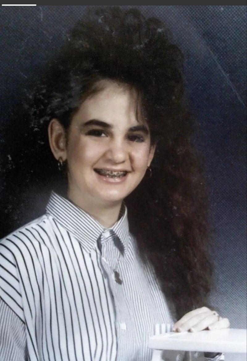 80s hair - Lady