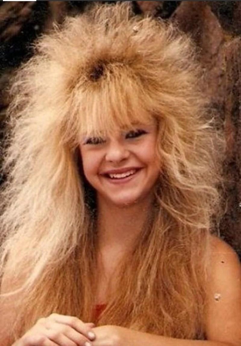 80s hair - Hair - m