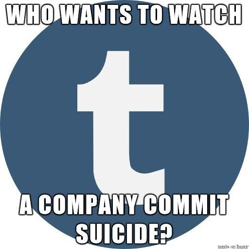 Font - WHO WANTS TO WATCH A COMPANY COMMIT SUICIDE? madn ngur