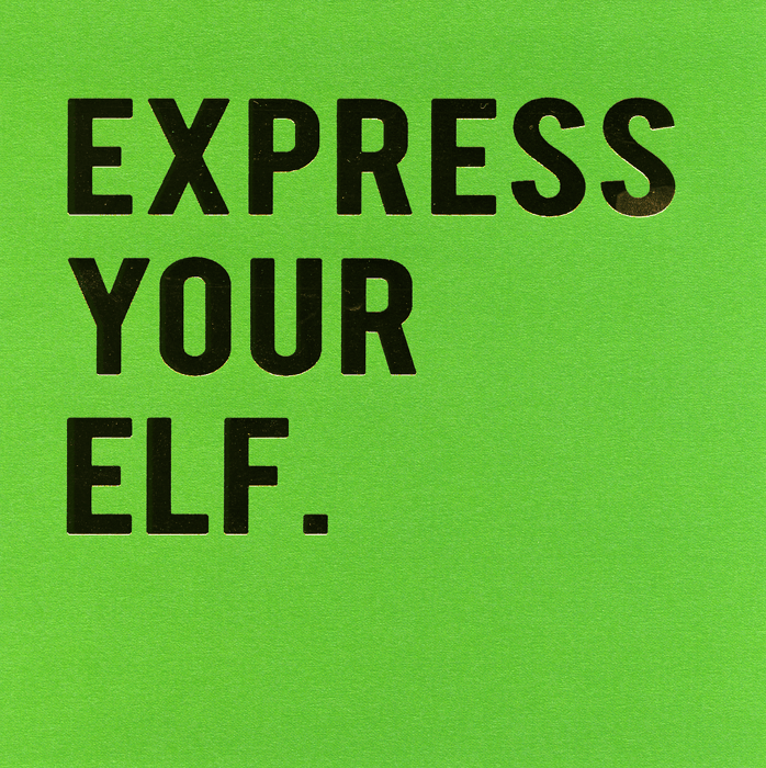 Green - EXPRESS YOUR ELF.