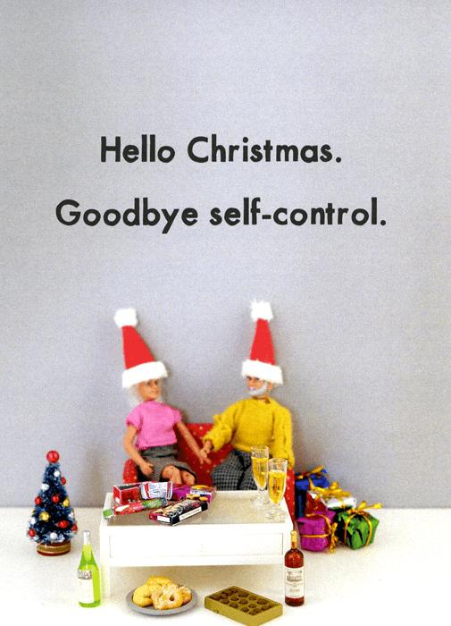 Toy - Hello Christmas. Goodbye self-control.