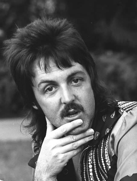 Mullet on young Paul McCartney from The Beatles