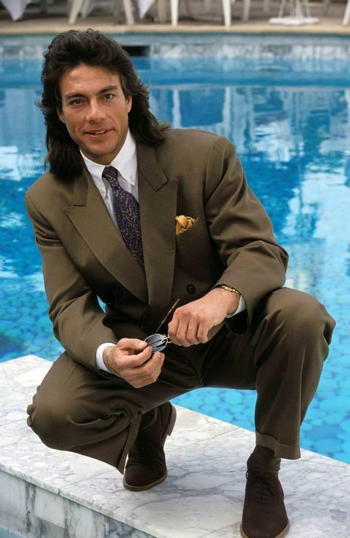 Mullet on young Jean Claude Van Damme