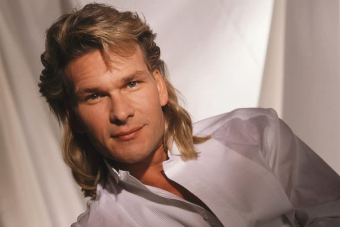Mullet on young Patrick Swayze