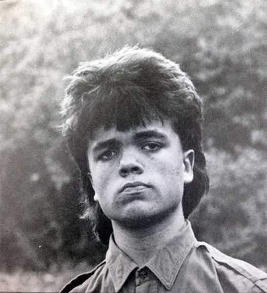 Mullet on young Peter Dinklage