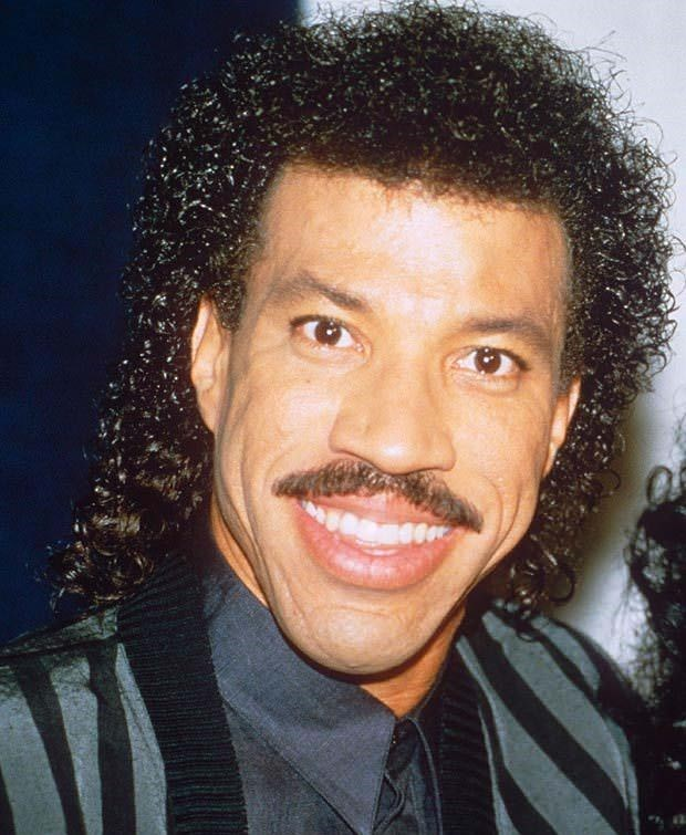 Mullet on young Lionel Richie