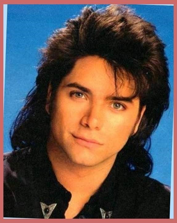 Mullet on young John Stamos in the role of uncle Jesse