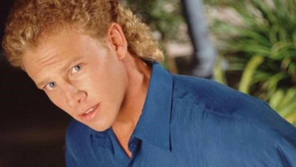 Mullet on Ian Ziering from Beverly Hills 90210