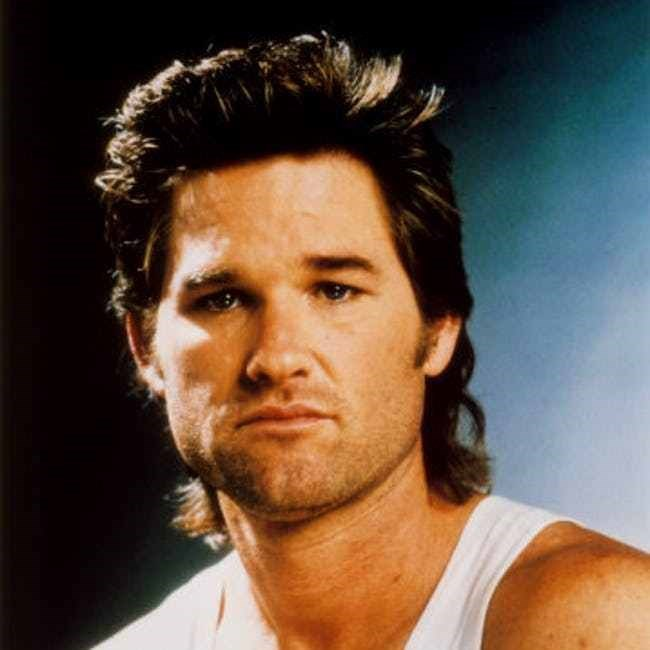 Mullet on young Kurt Russell